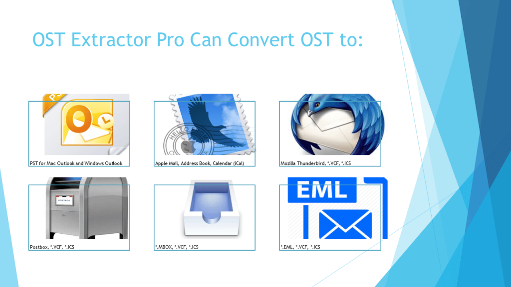 convert ost database to pst