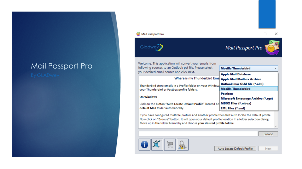 Export thunderbird to outlook 2019