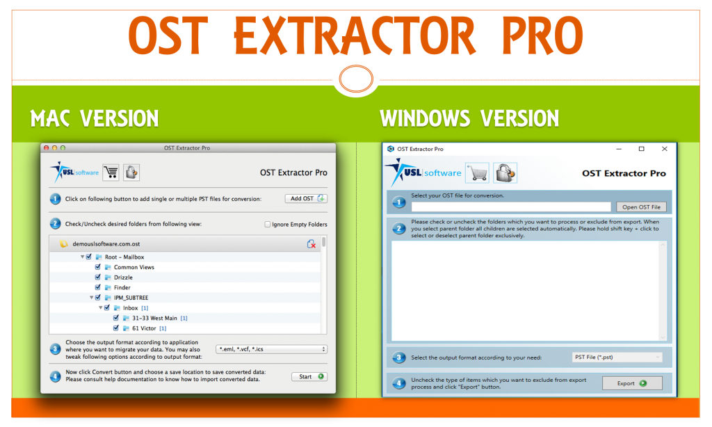 ost extractor pro for mac and windows