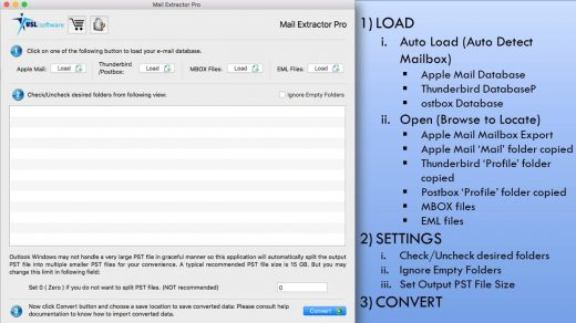 Thunderbird MBOX to PST Converter Software